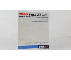 Цефаклор 250 мг / Cefaclor Basics 250 mg