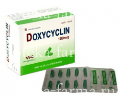 Доксициклин 100 мг / Doxycyclin 100 mg