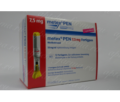 Метотрексат 7.5 mg / Metex PEN 7,5 mg